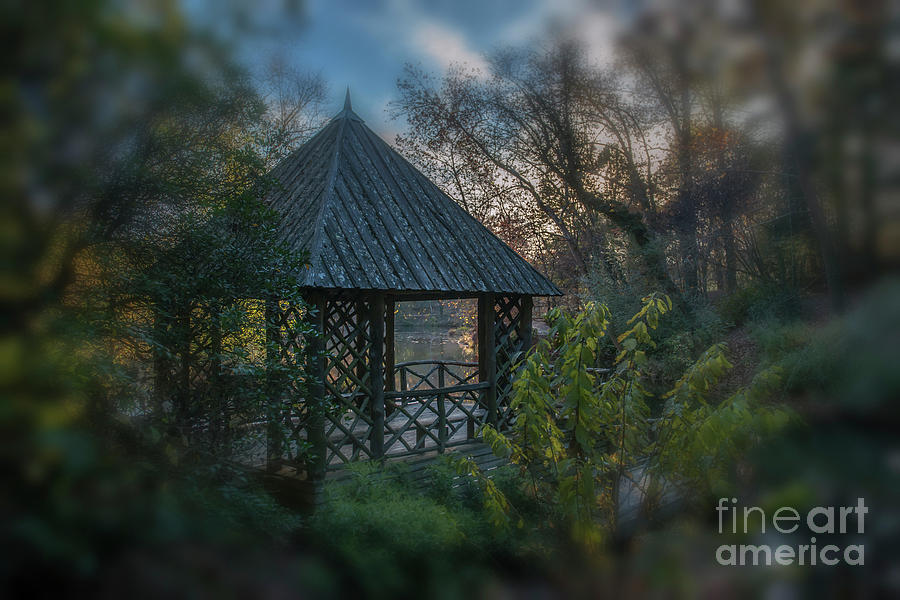 Bass Pond Boathouse Dreaming Photograph