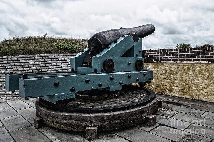 Bastion Gun Photograph