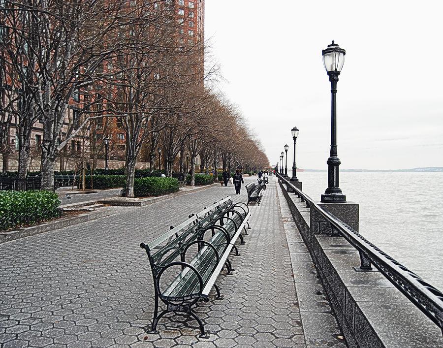 Cityscape Photograph - Battery Park by Michael Peychich