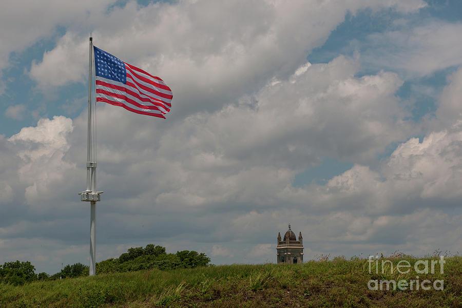 Battle Flag Photograph