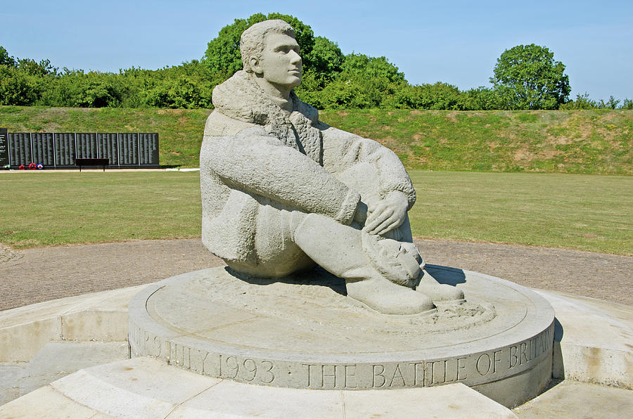 Battle Of Britain Photograph - Battle Of Britain Memorial by Chris Thaxter
