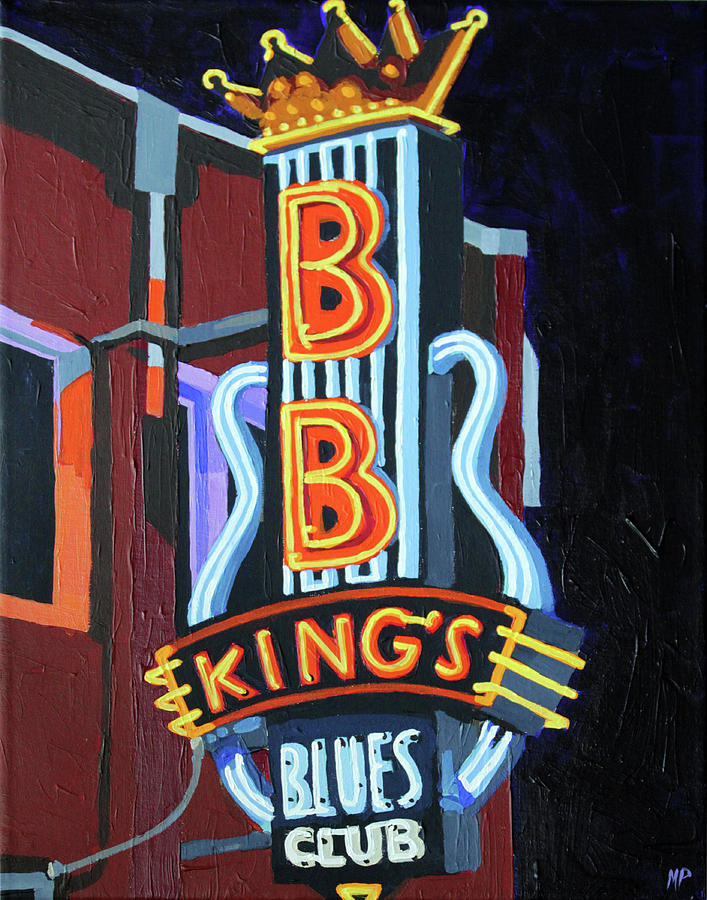 Bb Kings Blues Club Painting