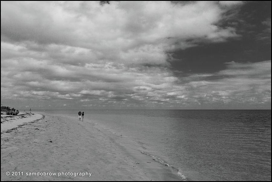 Beach At Key Biscayne Photograph