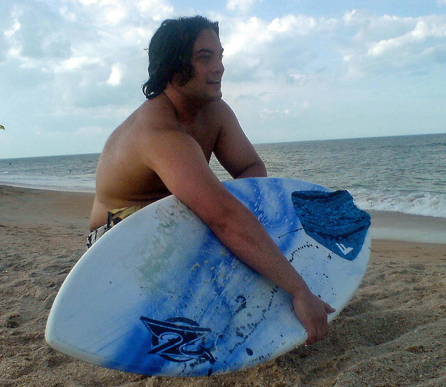 Skim Board Photograph - Beach Bliss by Patricia Taylor