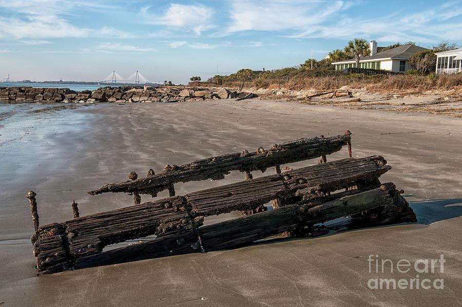 Beach Debris Photograph