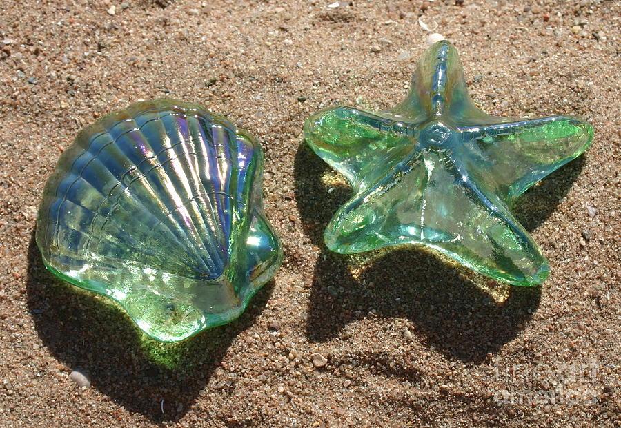 Beach Glass Photograph