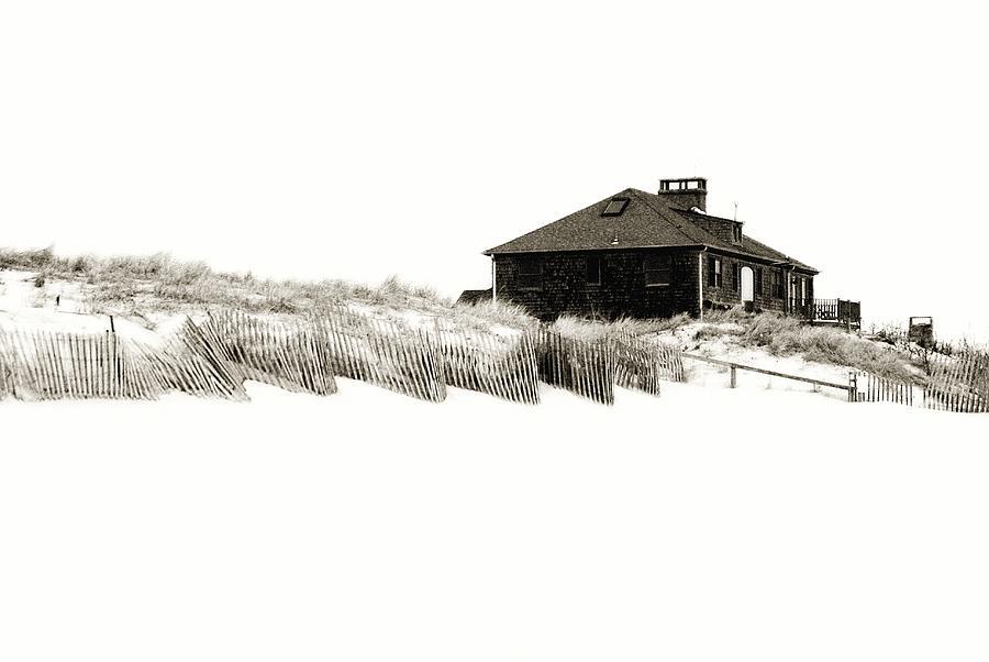 Beach House Photograph - Beach House - Jersey Shore by Angie Tirado