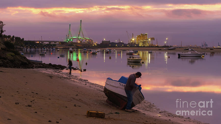 Beach Of The Minister Puerto Real Cadiz Spain Photograph