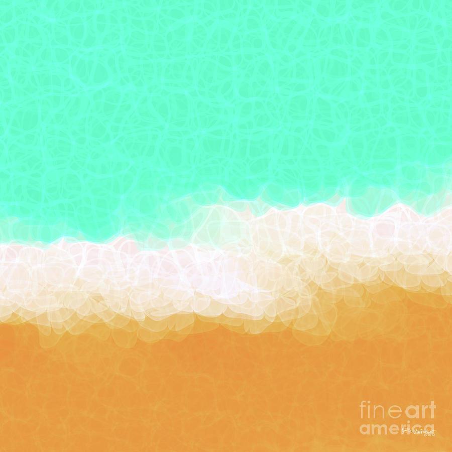 Beach Scene One Painting