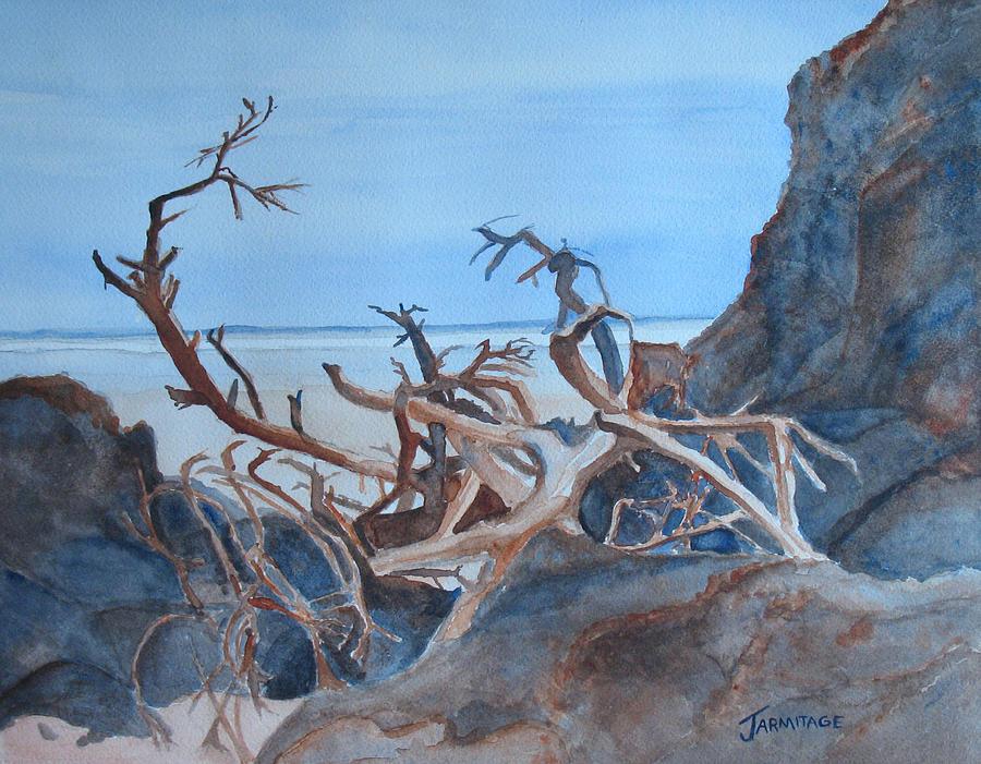 Beach Tangle Painting