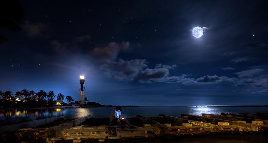 Beacons Of The Night Photograph