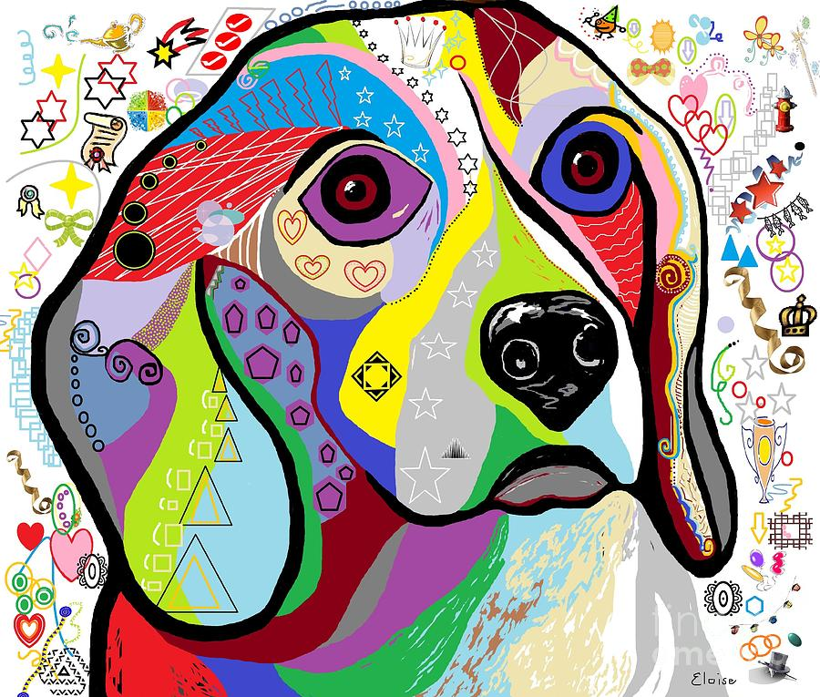Beagle Painting - Beagle by Eloise Schneider