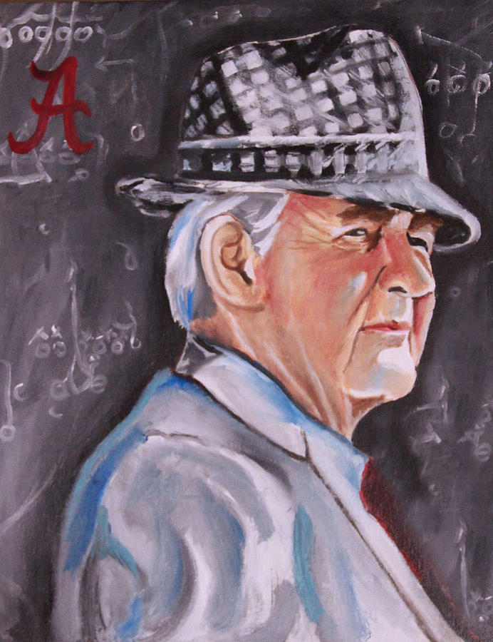 Bear Bryant Painting