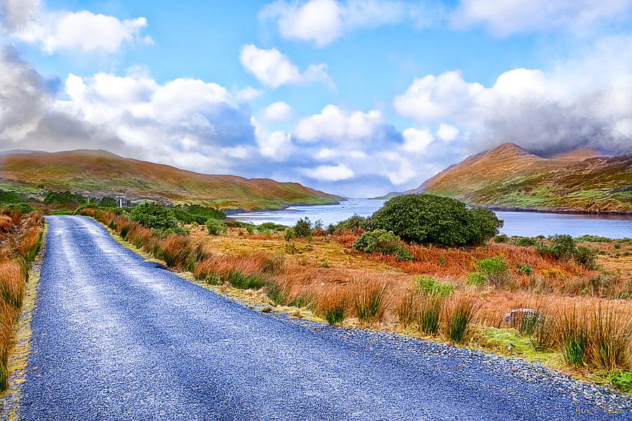 Galway Photograph - Beautiful Irish Countryside Of County Galway by Mark E Tisdale