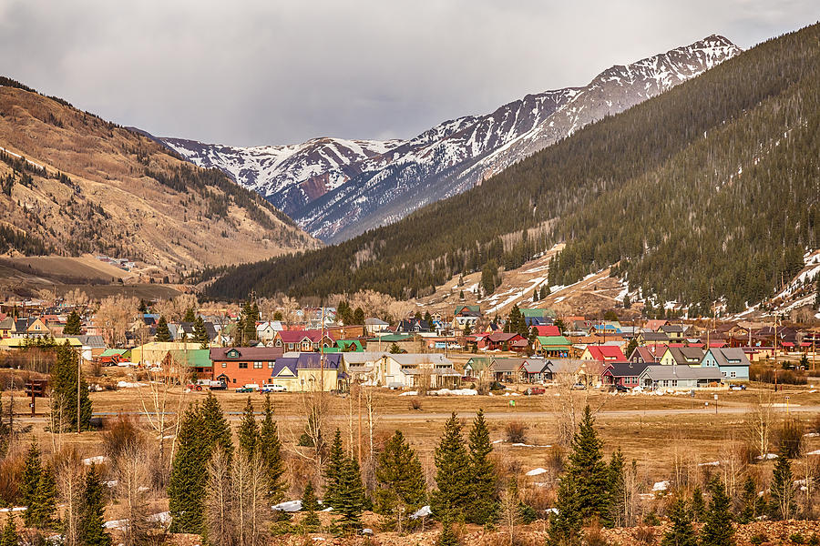 Beautiful Silverton Colorado Photograph