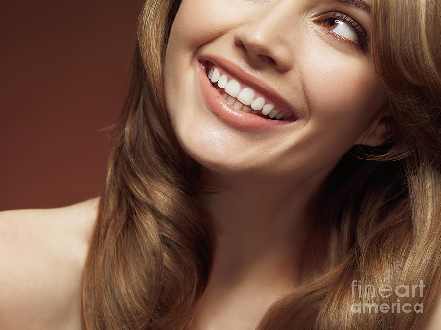 Beauty Photograph - Beautiful Young Smiling Woman by Oleksiy Maksymenko