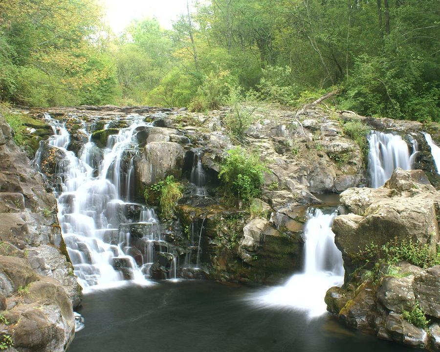 Waterfall Photograph - Beauty Falls by Marty Koch