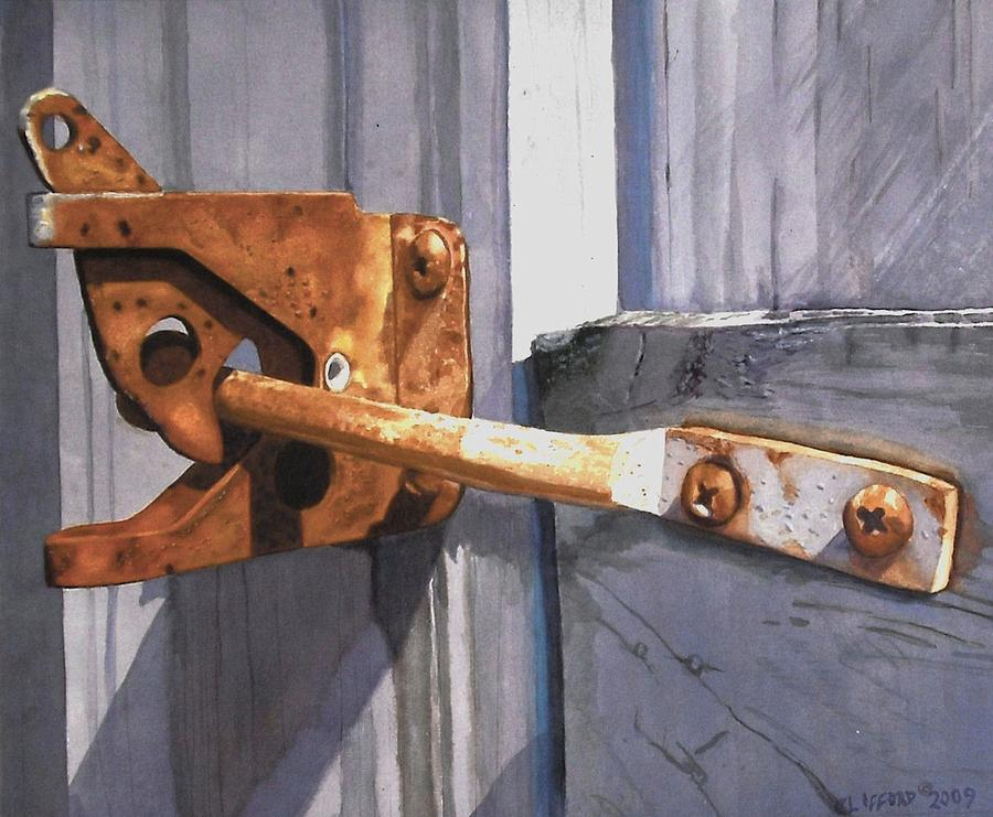 Latch Painting - Beauty In The Breakdown by Cory Clifford