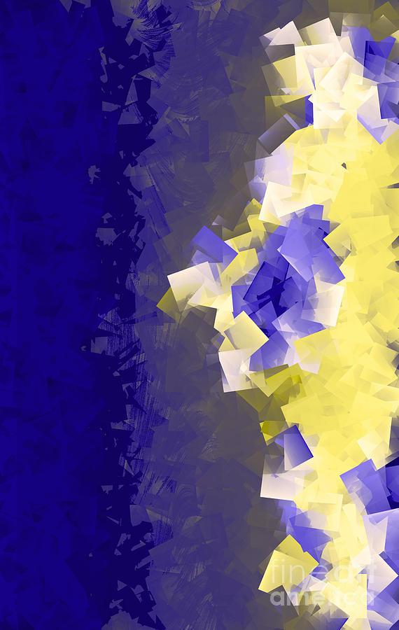 Abstract Digital Art - Becoming Visable by Amanda Barcon