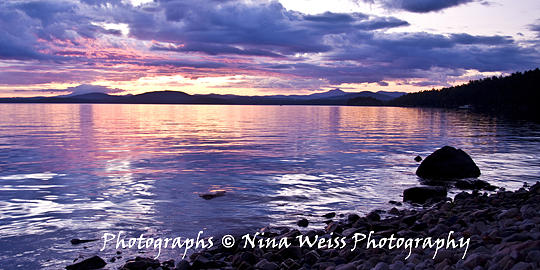Christmas Photograph - Before Sunrise In Adirondack Park Looking Towards Vermont-best Landscape Photography Christmas Gift by Nina Weiss