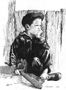 Baseball  Waiting For The Game Drawing - Before The Game by John  R Harris