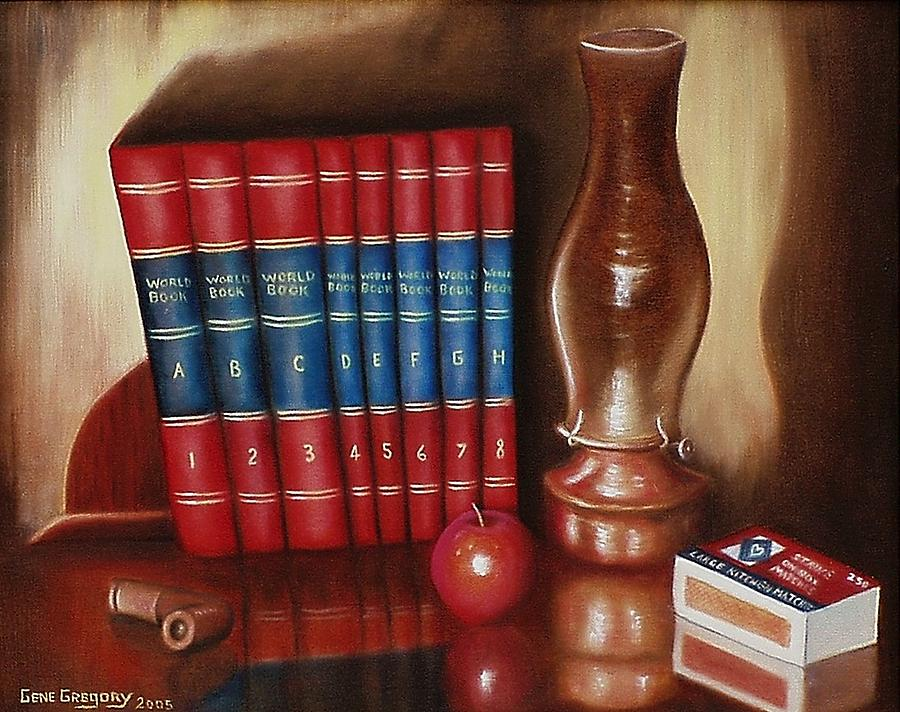 Still Life Painting - Before The Web by Gene Gregory