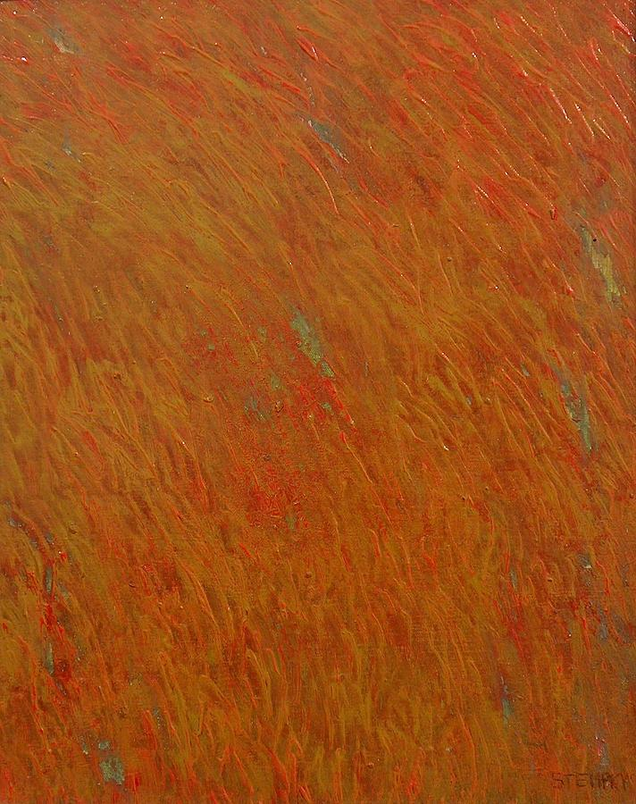 Abstract Painting - Being Swayed by Jacob Stempky