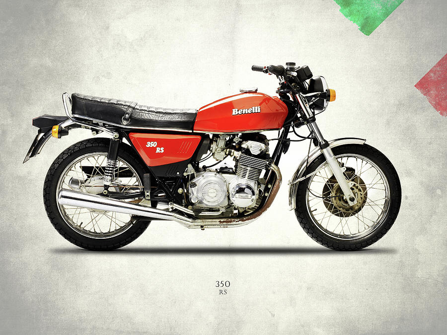 Benelli 350 Rs 1980 Photograph By Mark Rogan