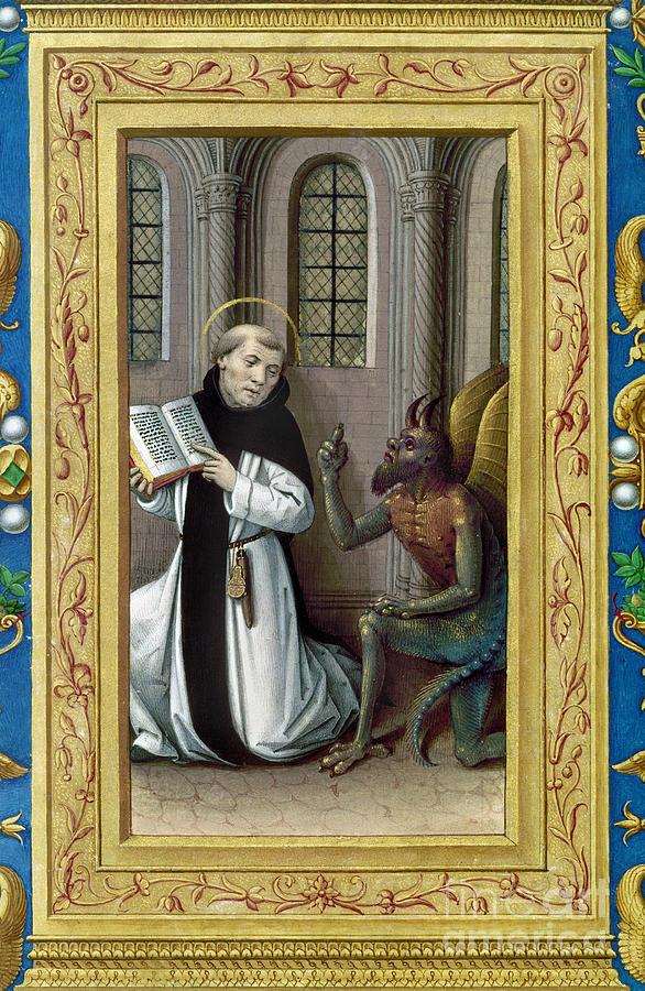Aod Painting - Bernard De Clairvaux by Granger