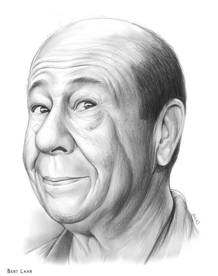 Bert Lahr Drawing