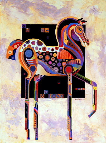Horse Art Painting - Best Of Show by Bob Coonts