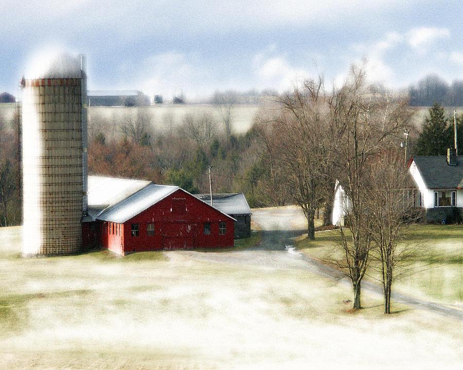 Photograph - Bethel Barn by Tom Romeo