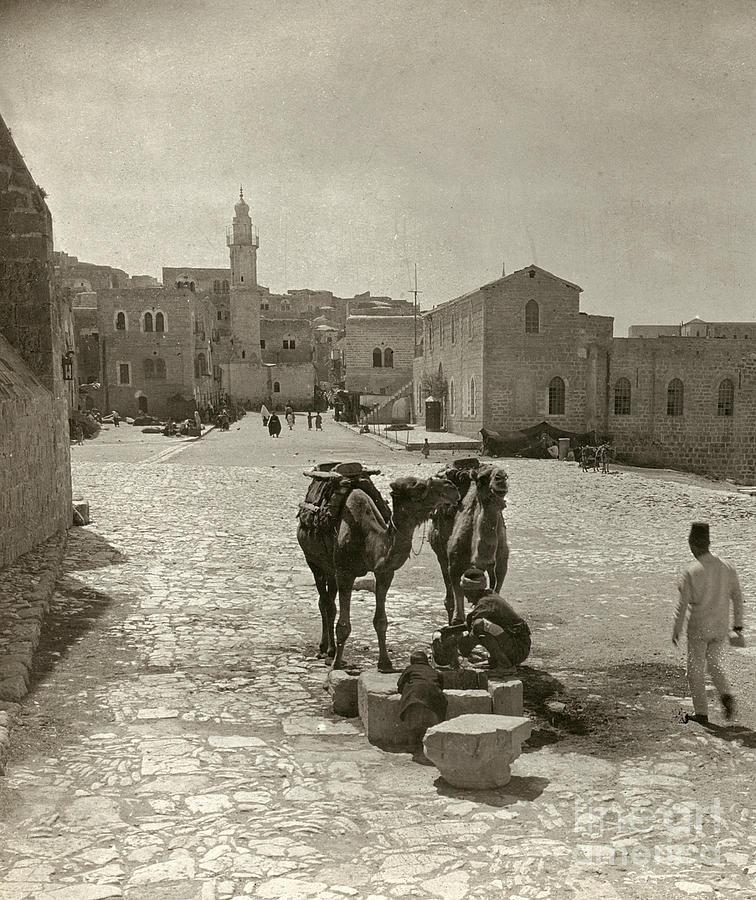 Bethlehem: Street, C1911 Photograph