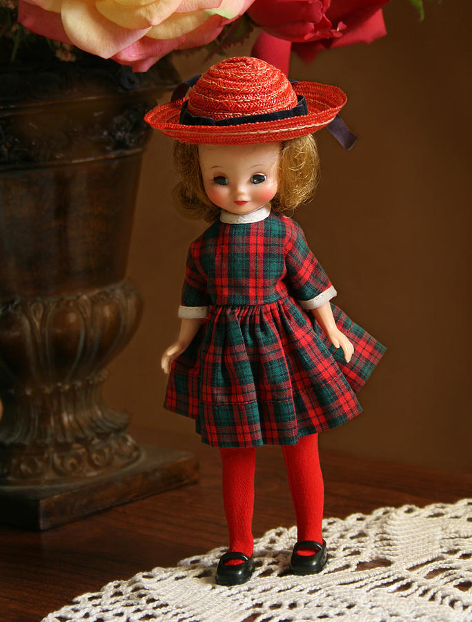 Betsy Photograph - Betsy Doll by Marna Edwards Flavell