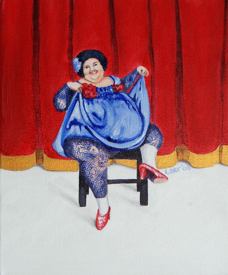 Fat Painting - Betty II by Matthew Lake