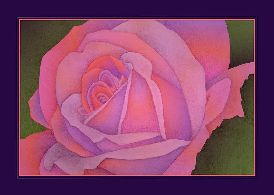 Rose Drawing - Beyond The Wall by Jane Alexander