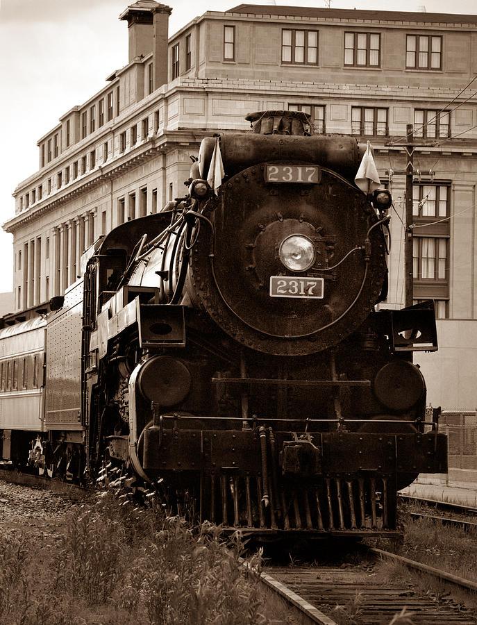 Canadian Pacific Railway Photograph - Big Boy... by Arthur Miller