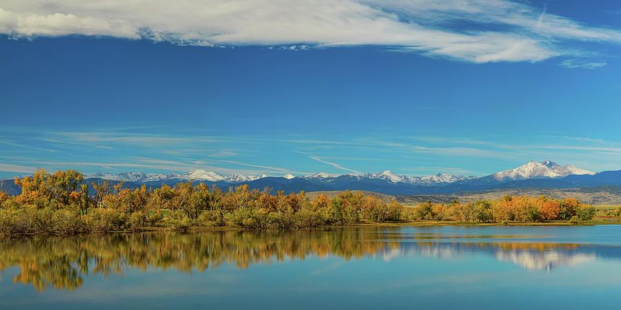 Big Sky Rocky Mountain Autumn Panorama Photograph
