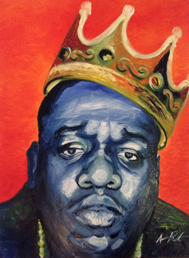 Biggie Painting Biggie Painting by Arm...