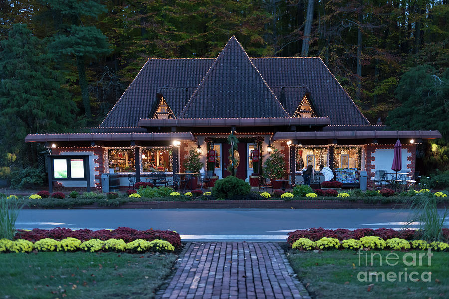 Biltmore Gift Shop At Entrance To The Estate Photograph