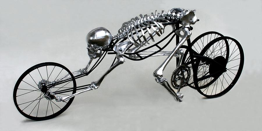 Bio-cycle Sculpture - Bio Cycle by Jud  Turner