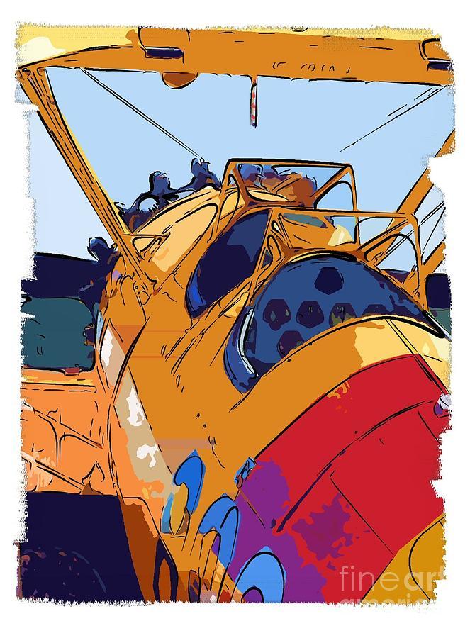 Biplane Painting