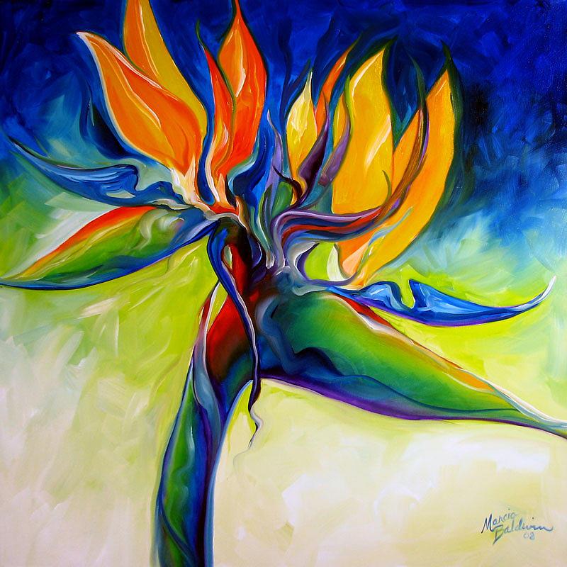 Bird Painting - Bird Of Paradise 24 by Marcia Baldwin