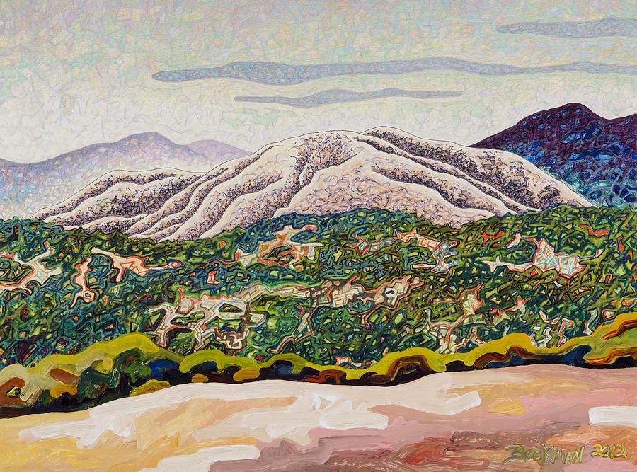 Birdseye Landscape #4 Mixed Media - Birdseye Landscape #4 by Dale Beckman