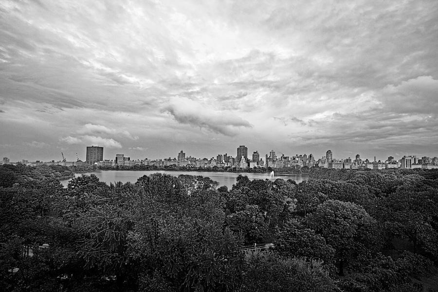 New York Photograph - Black And White City by Ariane Moshayedi