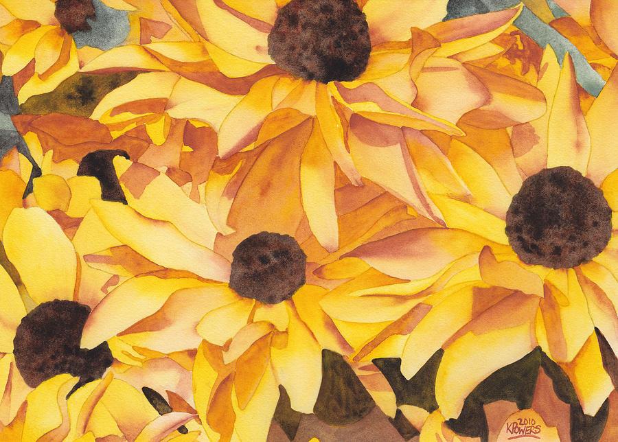 Black Eyed Susans Painting
