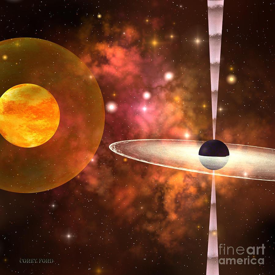 black hole painting - photo #43