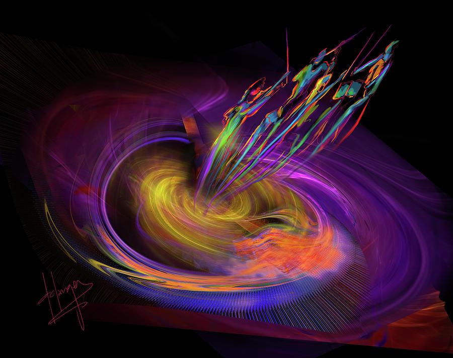 black hole painting - photo #6