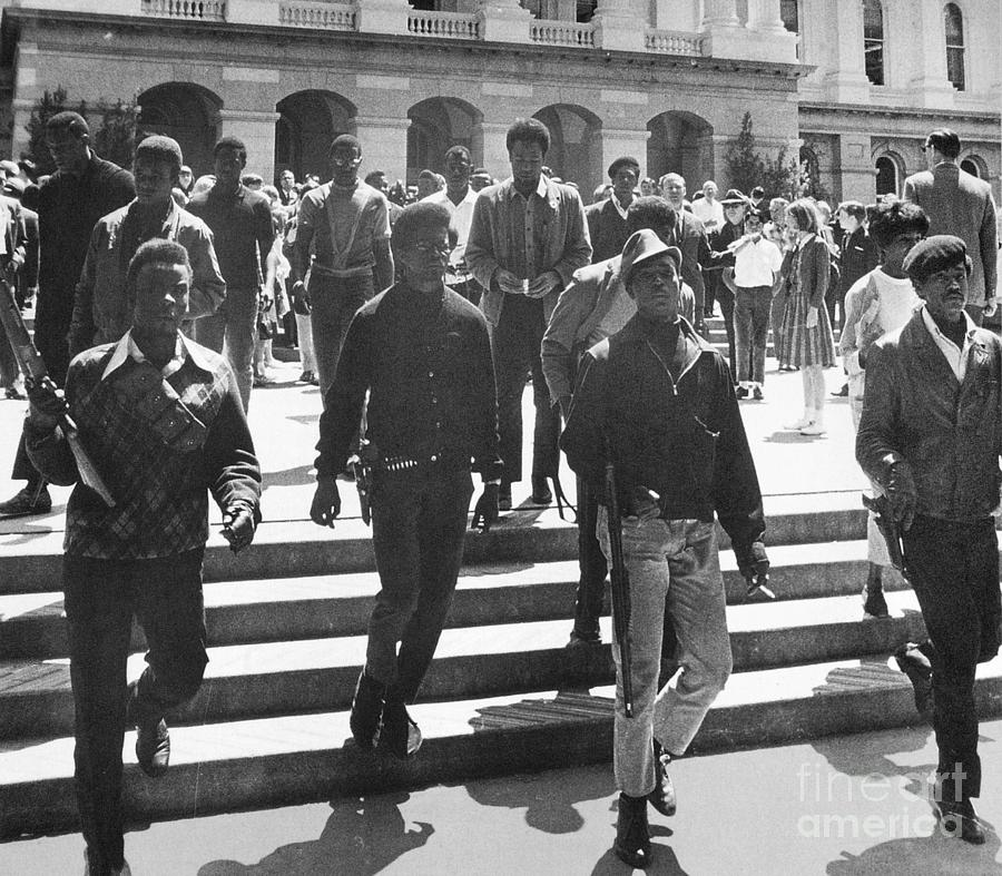 1967 Photograph - Black Panthers, 1967 by Granger