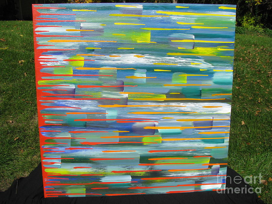 Movement Painting - Blindsided by Jacqueline Athmann
